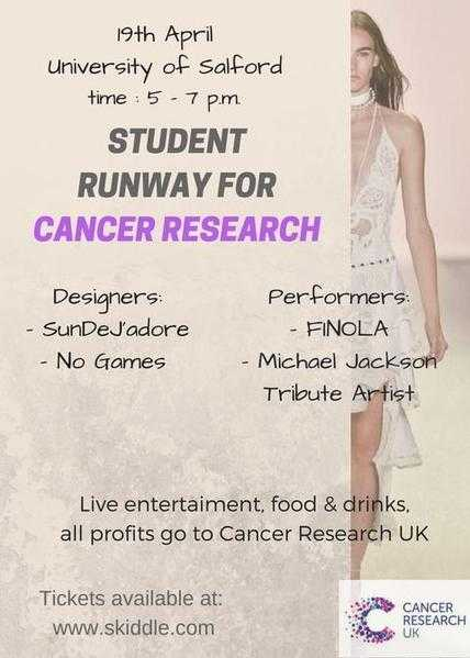 Student Runaway for Cancer Research 19th of April
