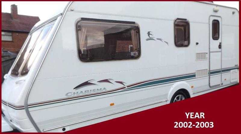 Swift 4 Berth Luxury Touring Caravan Ace Sterling Abbey Group BARGAIN.