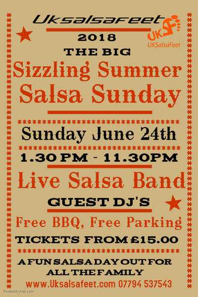 The Big Sizzling Summer Salsa Sunday