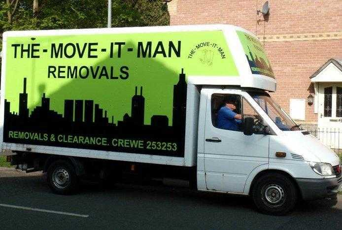 THE MOVE IT MAN House removals amp clearance in Crewe
