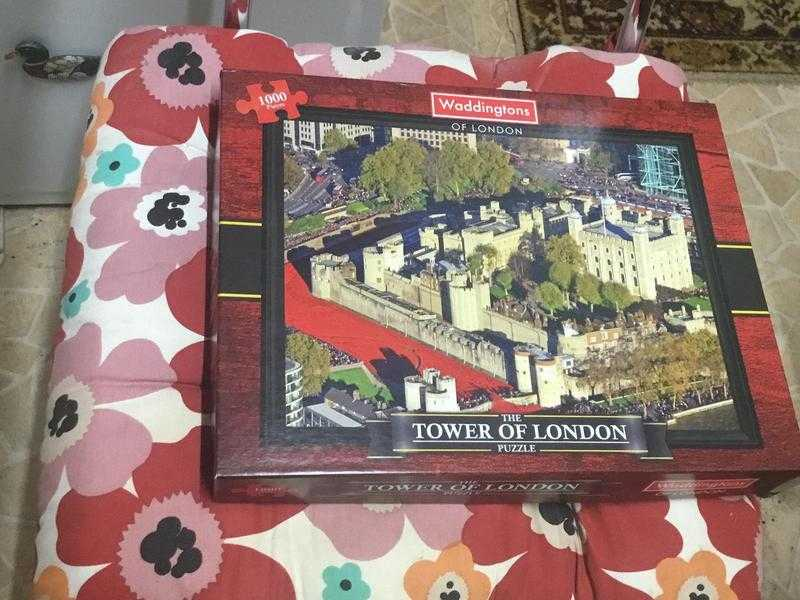 Tower of London puzzle 1000 pieces VGC