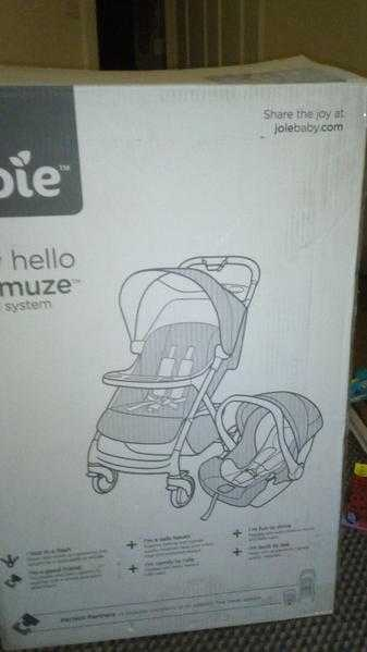 Travel system with rain cover