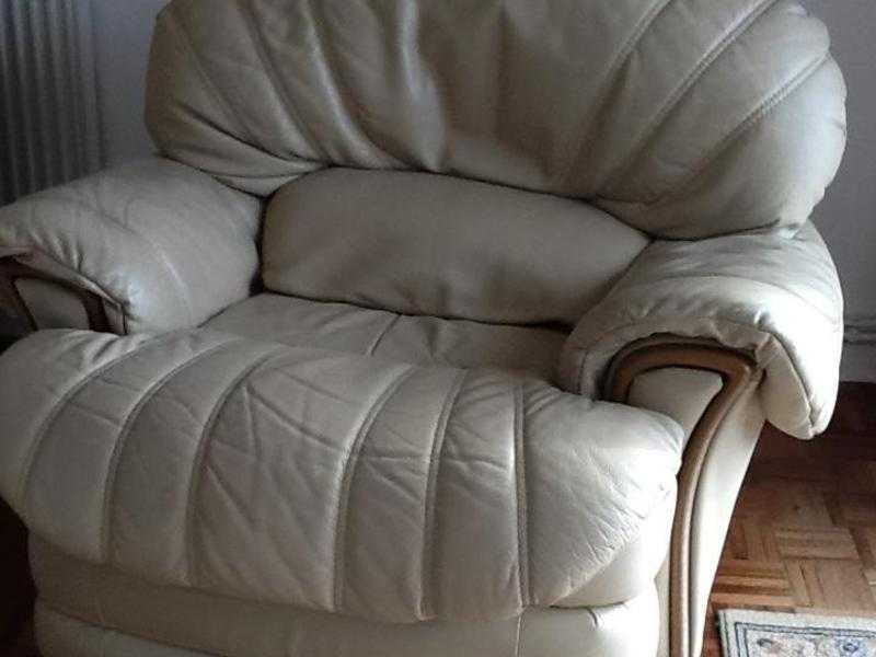 Two swivel plus reclining  arm chairs