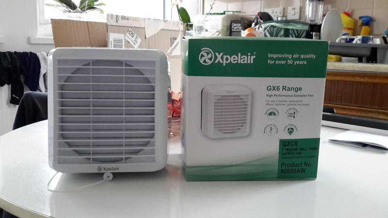 Two Xpelair Extractor Fans