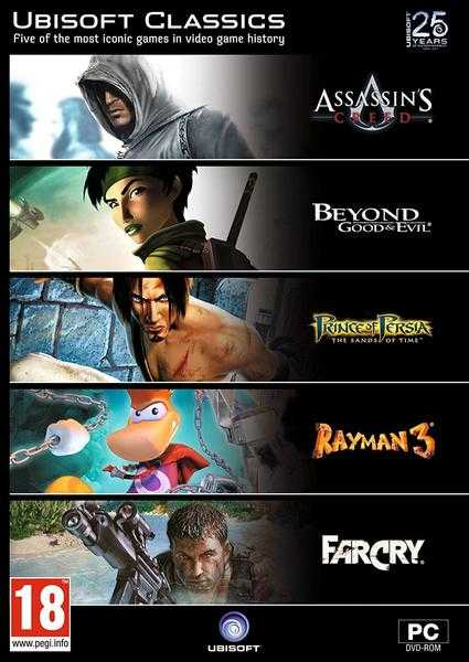 Ubisoft Classics (5 game pack, incl Assassin039s Creed) (PC DVD)