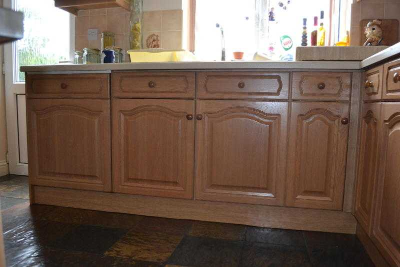 used fitted Magnet oak kitchen