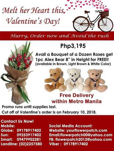 Valentines Day, Valentines Gifts with free Flower Delivery
