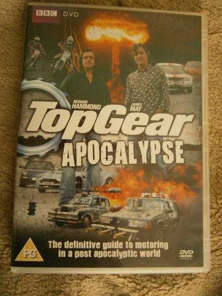 very rare 039TOP GEAR APOCALYPSE039 DVD039 - rare must have never shown on TV   AFAIK