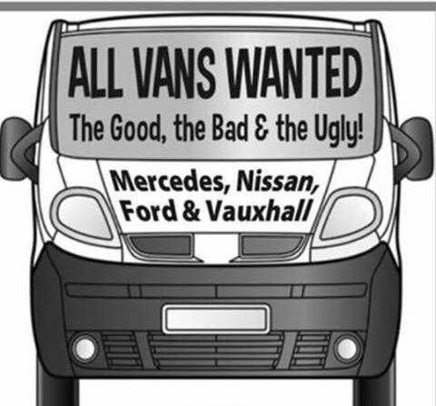 Wanted van all old vans wanted for cash