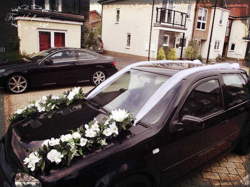 Wedding arch decor, wedding car decor