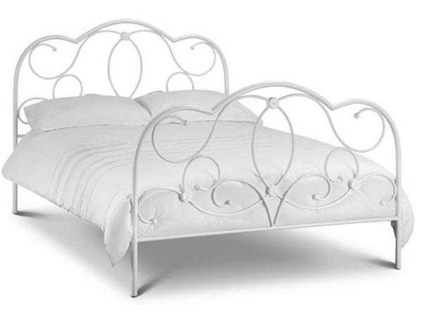 White Arabella Bed Frame