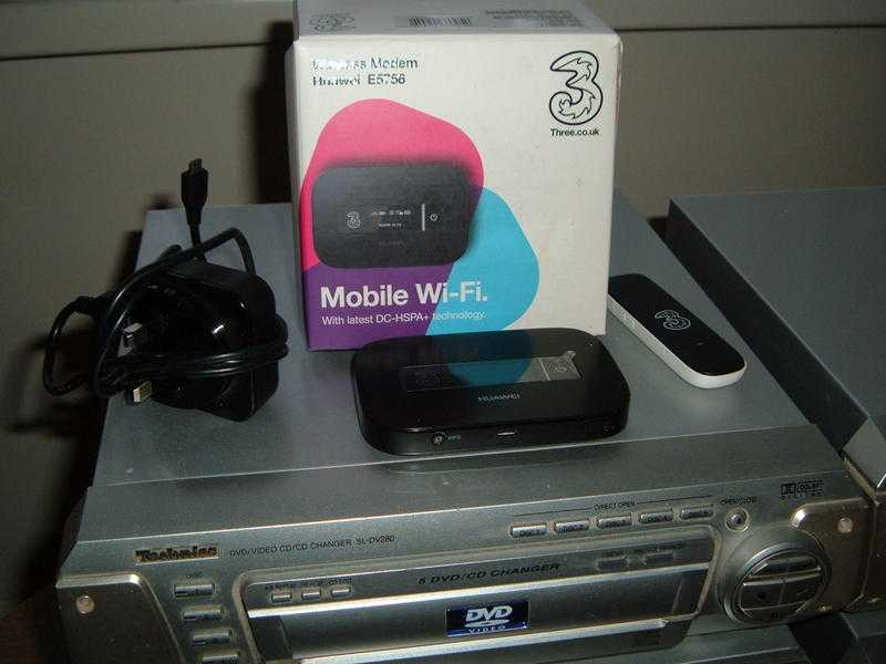 Wireless Modemand 3 Dongle