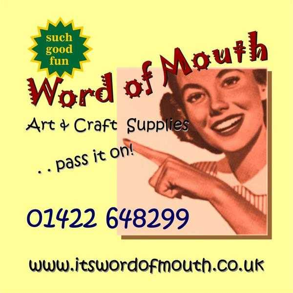 Word of Mouth, Arts amp Crafts Supplies